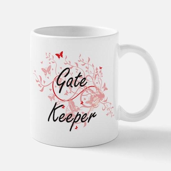 Gate Keeper Artistic Job Design with Butterfl Mugs