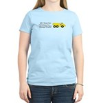 Christmas Dump Truck Women's Light T-Shirt