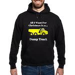 Christmas Dump Truck Hoodie (dark)