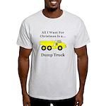 Christmas Dump Truck Light T-Shirt