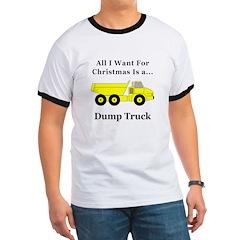 Christmas Dump Truck T