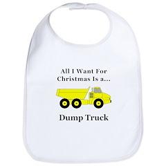 Christmas Dump Truck Bib