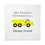 Christmas Dump Truck Queen Duvet