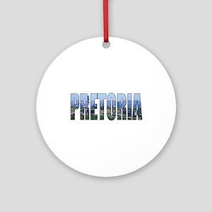 Pretoria Round Ornament