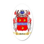 Saffery Oval Car Magnet