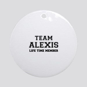 Team ALFONSO, life time member Round Ornament