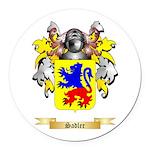 Sadler Round Car Magnet