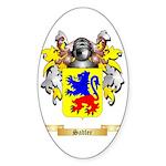 Sadler Sticker (Oval 50 pk)