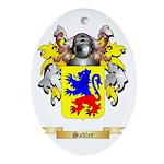 Sadler Oval Ornament
