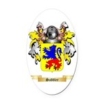 Saddler Oval Car Magnet