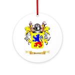 Saddler Round Ornament