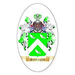 Saddington Sticker (Oval 50 pk)