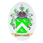 Saddington Oval Ornament
