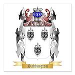 Saddington 2 Square Car Magnet 3