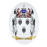 Saddington 2 Oval Ornament