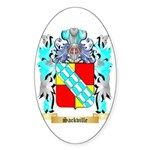 Sackville Sticker (Oval 10 pk)