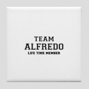 Team ALFREDO, life time member Tile Coaster