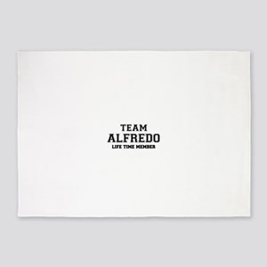Team ALFREDO, life time member 5'x7'Area Rug