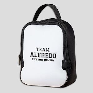 Team ALFREDO, life time member Neoprene Lunch Bag