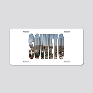 Soweto Aluminum License Plate