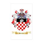 Sacher Sticker (Rectangle 50 pk)