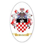Sacher Sticker (Oval 10 pk)