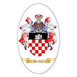 Sacher Sticker (Oval 50 pk)