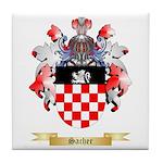 Sacher Tile Coaster