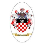 Sachariasch Sticker (Oval 50 pk)