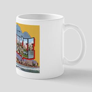 Milwaukee Wisconsin Greetings Mug