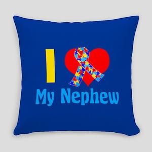 Autism Nephew Everyday Pillow