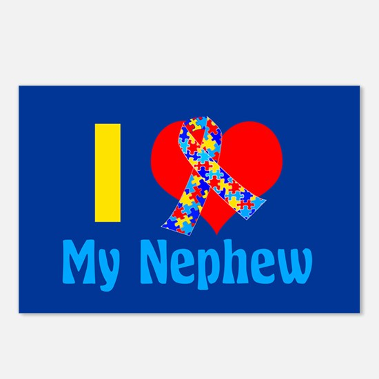 Autism Nephew Postcards (Package of 8)