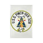 USS Finch (DER 328) Rectangle Magnet (10 pack)