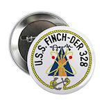 USS Finch (DER 328) Button