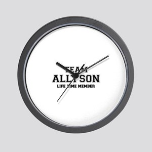 Team ALLYSON, life time member Wall Clock
