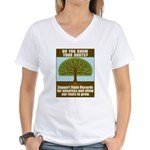 Open Records Women's V-Neck T-Shirt