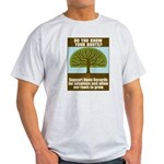 Open Records Light T-Shirt