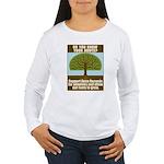Open Records Women's Long Sleeve T-Shirt