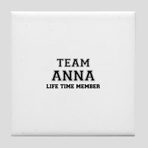 Team ANNABEL, life time member Tile Coaster