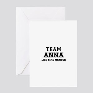 Team ANNABEL, life time member Greeting Cards