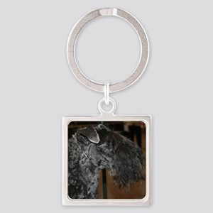 kerry blue terrier Keychains