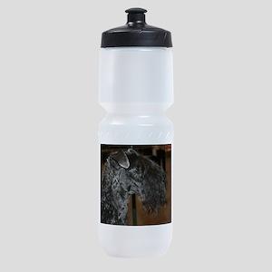 kerry blue terrier Sports Bottle