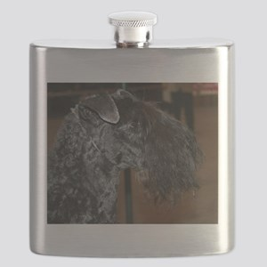 kerry blue terrier Flask