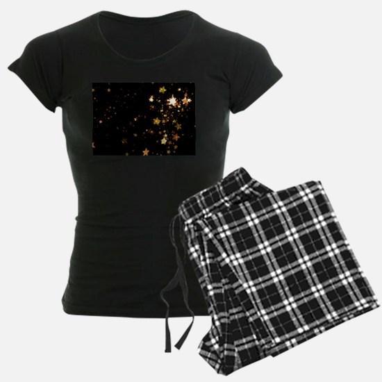 black gold stars Pajamas