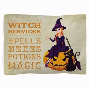 WITCH SERVICES Pillow Sham