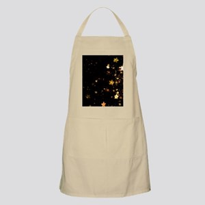 black gold stars Apron