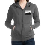 Because It's There Women's Zip Hoodie