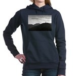 Because It's There Women's Hooded Sweatshirt