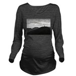 Because It's There Long Sleeve Maternity T-Shirt
