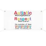 Autistic Acceptance Banner